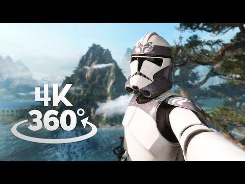 Star Wars Battlefront II Kashyyyk 360° Video in 4K!