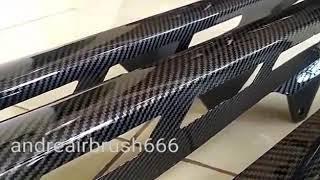 Carbon Water Transfer Printing Film Cat Carbon Karbon Celup WTP WTF JP-01