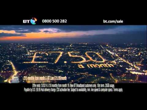 BT Broadband Sale 31 December 2013