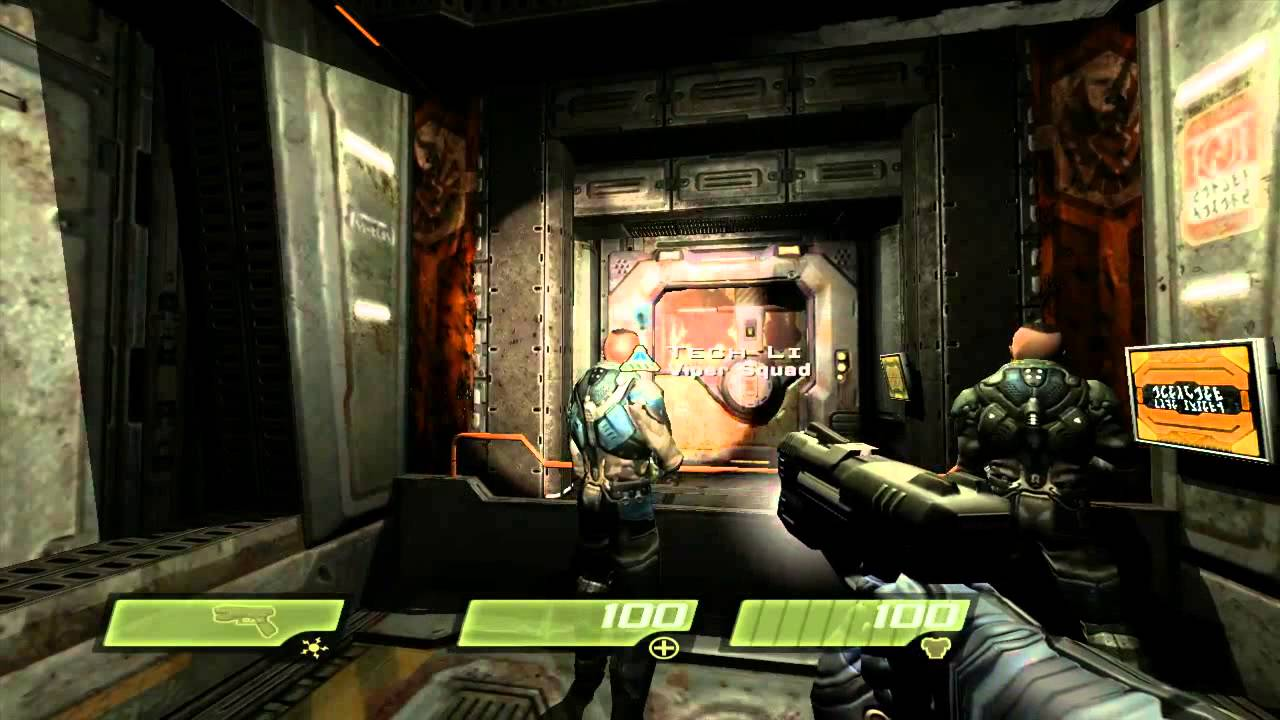 Quake 4 Xbox 360 HD Live Stream With Gabethewildman And
