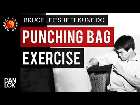 Bruce Lee Punching Bag Exercise