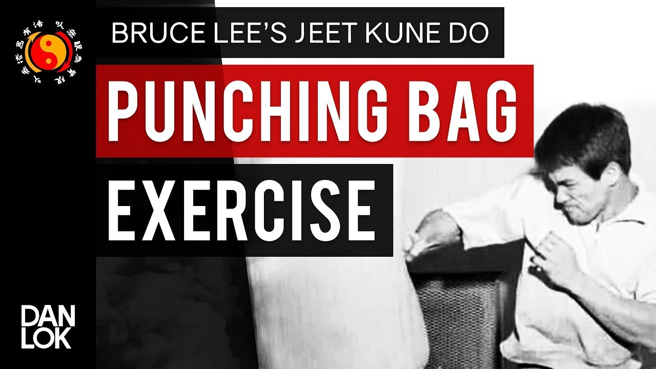 a61bd3180351 Bruce Lee Punching Bag Exercise - YouTube