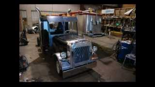 Peterbilt Golf Cart Project