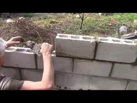 Забор на даче своими руками! Как построить забор??
