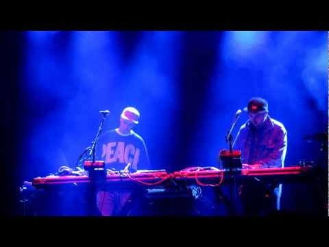 John Talabot - Oro y Sangre (Live @ Hollywood Forever Cemetery in Los Angeles, Ca 10.13.2012)