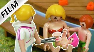 Playmobil Film deutsch | EMMA VON INSEKT GESTOCHEN! | Familie Vogel im Freibad | Kinderserie