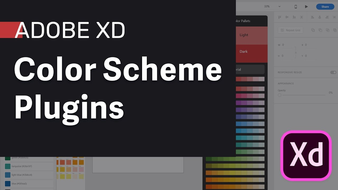 Adobe XD Plugins for Color Scheme and Palettes - Top 3 XD ...
