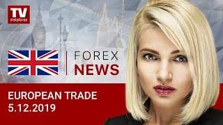 InstaForex tv news: 05.12.2019: Euro and pound to offset losses: outlook for EUR/USD and GBP/USD