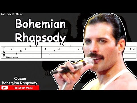 Queen - Bohemian Rhapsody Guitar Tutorial