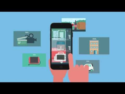 Crowdfunding aggregator mobile app by Access Investors Network