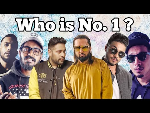Top 10 Rappers in India 2019   honey singh, badshah, raftaar, emiway bantai, gully boy   Noob Tuber