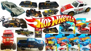 New 2018 Hot Wheels Cars, Black & Gold 50th Series, Kmart Exclusives And More!
