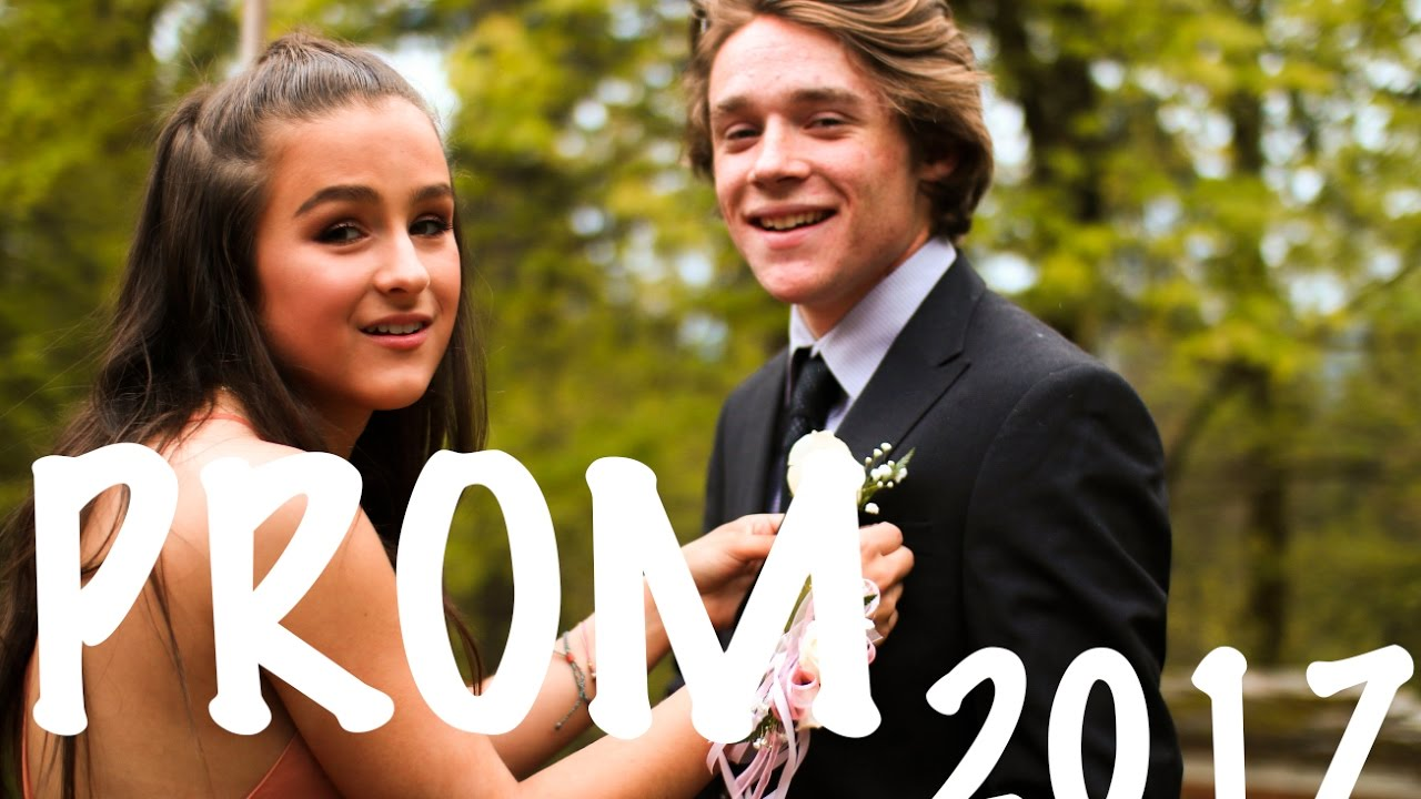 prom day in the life 2017 youtube