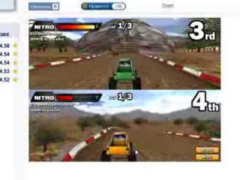 3D гонки на грузовиках(Мини игры)