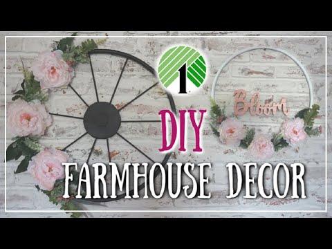 DIY Dollar Tree Spring Farmhouse Decor Ideas | Momma From Scratch