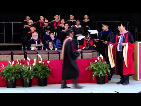 2015 Stanford Graduate School of Business Diploma Ceremony