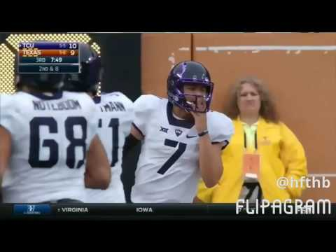 Kenny hill TCU football highlights 2016