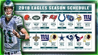 Early 2018 Eagles Record Prediction + Schedule Reactions | Can Philly Repeat As #1 Team In NFL?