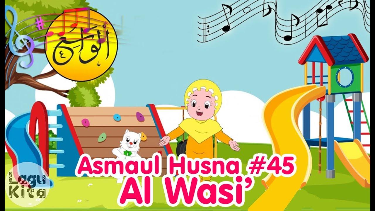 ASMAUL HUSNA 45 - AL WASI' | Diva Bernyanyi | Lagu Anak Channel