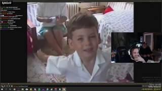 Elraen - Babasıyla Çocukluk Videolarını İzliyor Sünnet vs