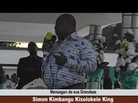 LUANDA, 12/09/2016; MENSAGEN DE SUA GRANDEZA SIMON KIMBANGU KISOLOKELE KING