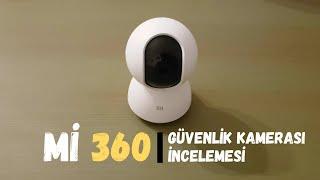 Xiaomi Mijia Home 360 Derece 1080p Güvenlik ve Çocuk Bakıcı Kamerası İncelemesi. Ofis / Ev Güvenlik
