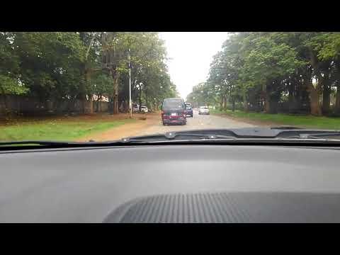 Drive in Harare Zimbabwe
