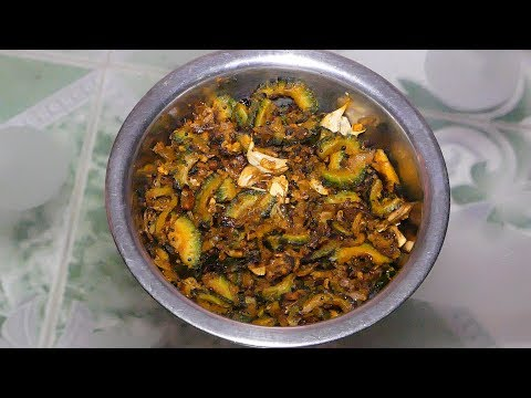 How To Cook Bitter Gourd Recipe without bitter tasty street food