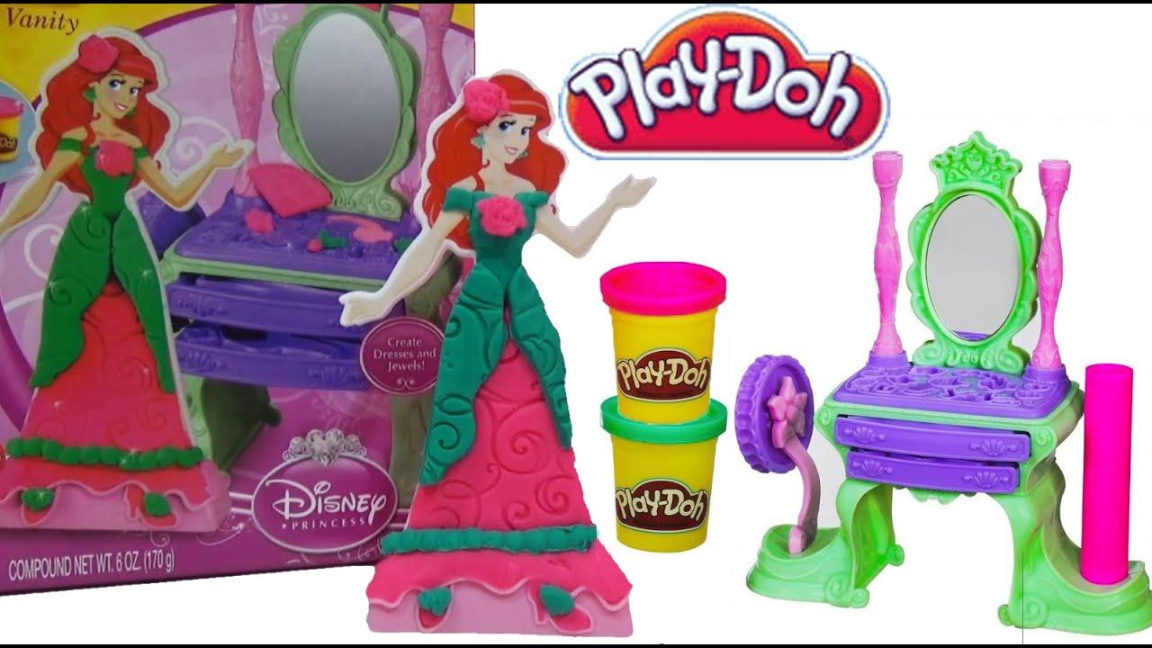 Play Doh Disney Princess Ariel Royal Vanity Set Play Doh