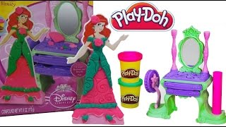 Play Doh Disney Princess Ariel Royal Vanity Set Play-doh Dress Up