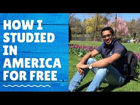 How I Got A 100%(full Ride) Scholarship From American Universities | My Experiences |Ashish Fernando