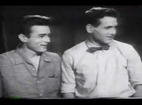 James Dean and Paul Newman Screen Test
