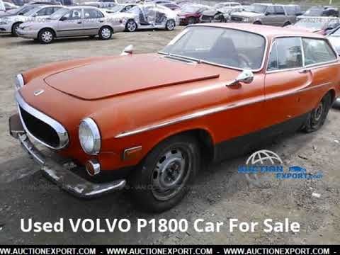 used volvo p1800 for sale in usa worldwide shipping youtube. Black Bedroom Furniture Sets. Home Design Ideas