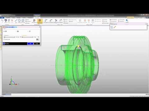 Tworzenie modelu na podstawie dokumentacji 2D [Edgecam Tutorial]