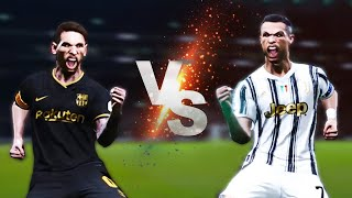 PES 2021 - Team Ronaldo Vs Team Messi - PES Experiment