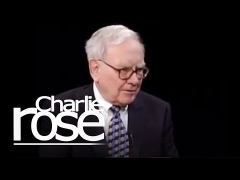 Warren Buffett | Charlie Rose