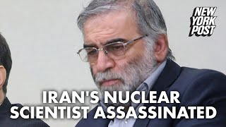 Iranian minister Javad Zarif alleges 'Israeli role' in killing of nuclear scientist | New York Post