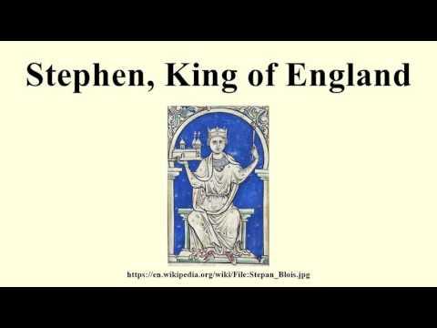 Stephen, King of England