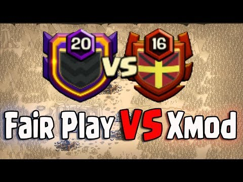 Fair Play VS xMod Clan War | This Is Not Fair Clash Of Clan |Third Party Software 3Star Any TH11 War