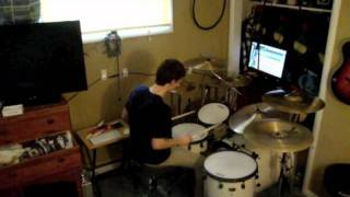 Skrillex - Scary Monsters & Nice Sprites (The Juggernaut Remix) Drum Cover