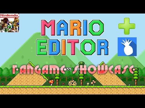Mario Editor v1.0 - Mario Level Design Fangame + Check out KalHasChicken