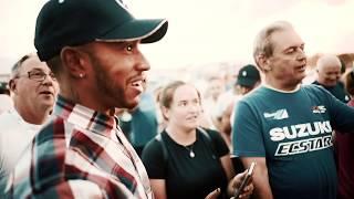 Lewis Hamilton Meets the Silverstone Volunteers