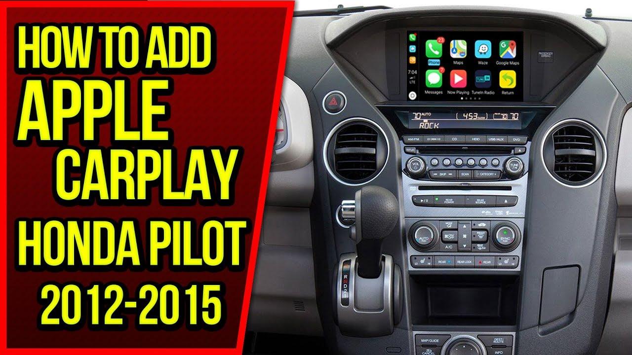 How To Add Apple Carplay Honda Pilot 2012 2015 Navtool Video Interface Android Auto Hdmi Mirroring Youtube
