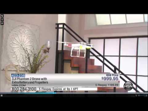 DJI Phantom Crash on Home Shopping Network