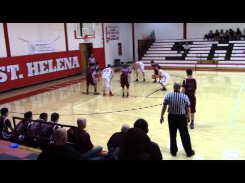 Clear Lake Cardinals basketball vs St Helena 1/12/2016