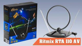 Распаковка и обзор домашней телевизионной антенны Ritmix RTA 110 AV
