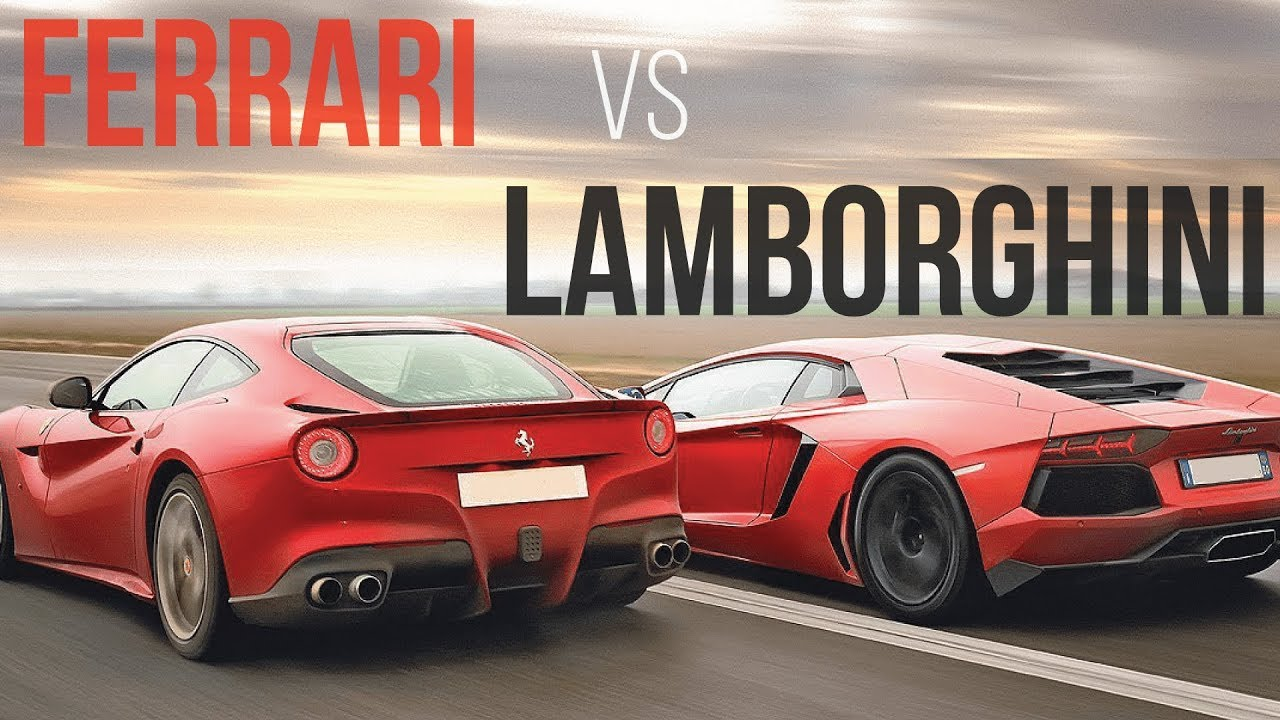 Ferrari Vs Lamborghini The Untold Story Youtube