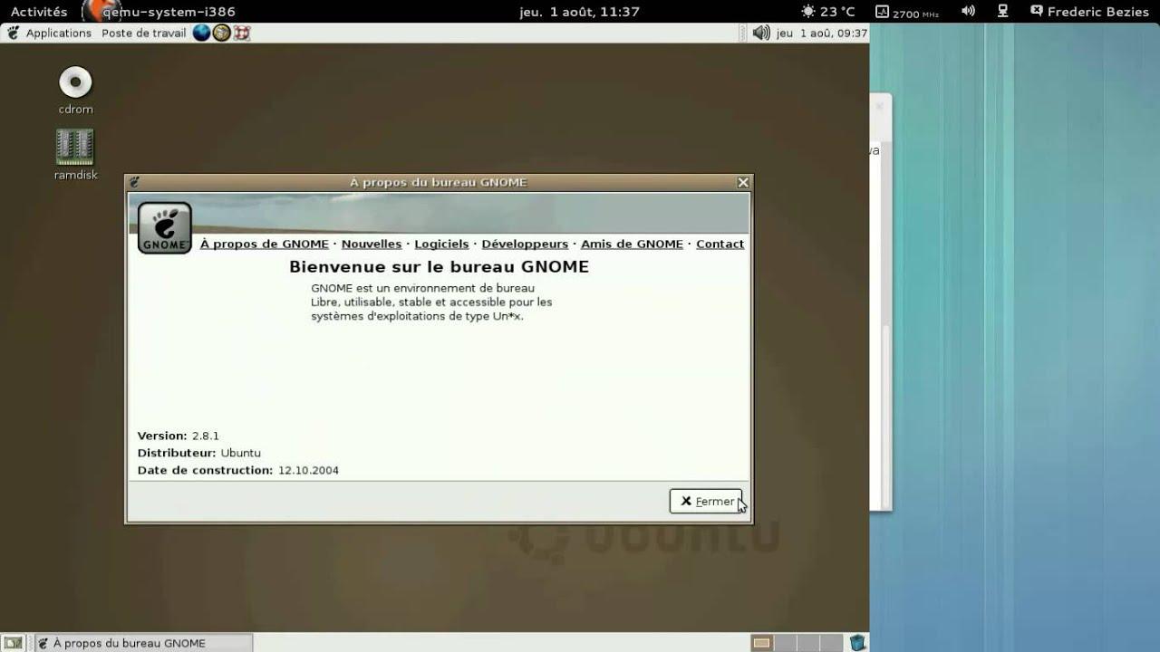 Ubuntu livecd youtube