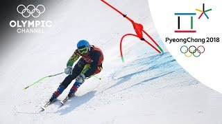 Breitfuss is the best Latin American in Men's Slalom | Day 13 | Winter Olympics 2018 | PyeongChang