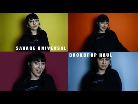 Savage Universal Seamless Paper Backdrop Review/Haul (DIY HOME STUDIO)